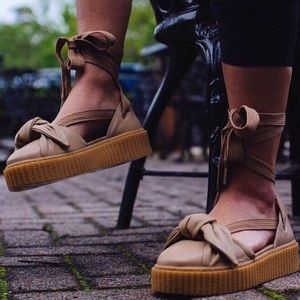 PUMA Fenty by Rihanna Bow Creeper Sneakers Size 6